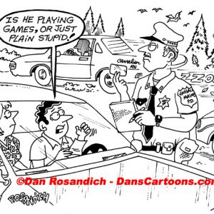 Law Enforcement Police Cartoon 167