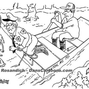 Law Enforcement Police Cartoon 169