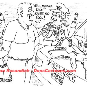Law Enforcement Police Cartoon 175