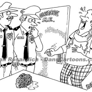 Law Enforcement Police Cartoon 176