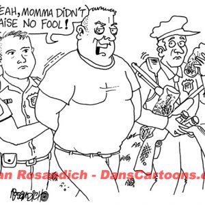 Law Enforcement Police Cartoon 180