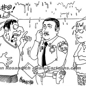 Law Enforcement Police Cartoon 188