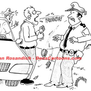 Law Enforcement Police Cartoon 190