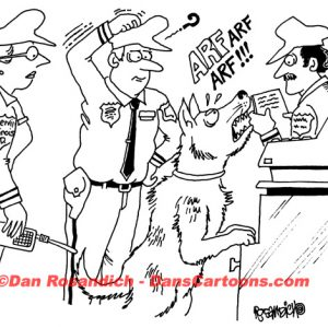 Law Enforcement Police Cartoon 191
