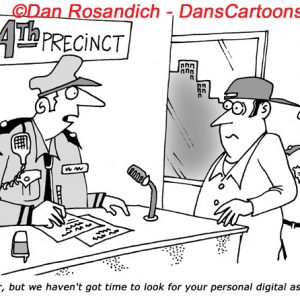Law Enforcement Police Cartoon 2