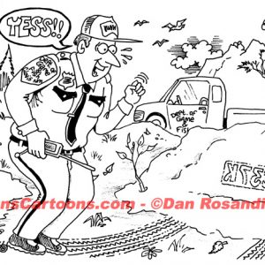 Law Enforcement Police Cartoon 200