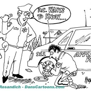 Law Enforcement Police Cartoon 204