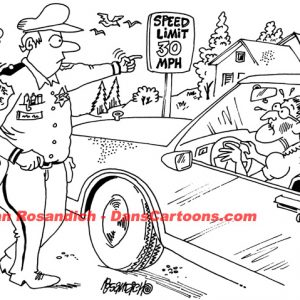 Law Enforcement Police Cartoon 206