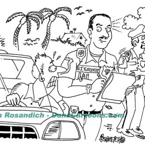 Law Enforcement Police Cartoon 208