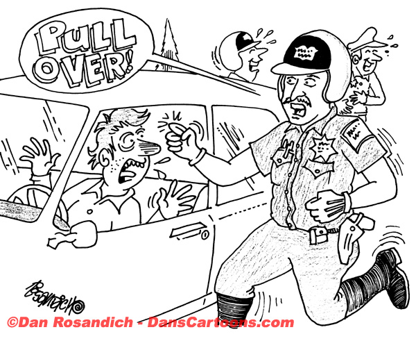 Law Enforcement Police Cartoon 214