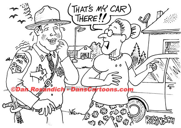 Law Enforcement Police Cartoon 217