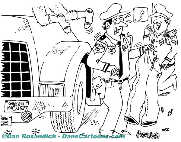 Law Enforcement Police Cartoon 220
