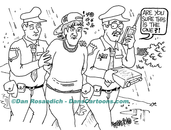 Law Enforcement Police Cartoon 221