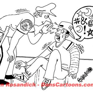 Law Enforcement Police Cartoon 228