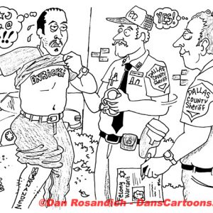 Law Enforcement Police Cartoon 237
