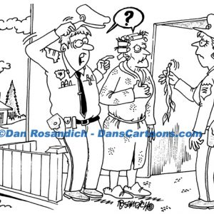 Law Enforcement Police Cartoon 243