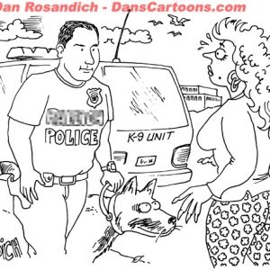 Law Enforcement Police Cartoon 249