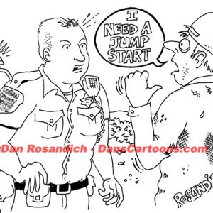 Law Enforcement Police Cartoon 251