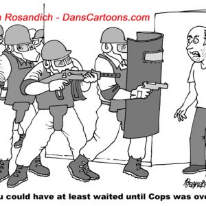 Law Enforcement Police Cartoon 3