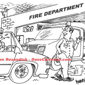 Law Enforcement Police Cartoon 309