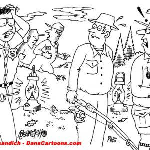 Law Enforcement Police Cartoon 341