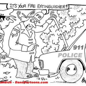Law Enforcement Police Cartoon 344