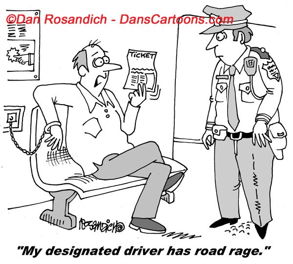 Law Enforcement Police Cartoon 4