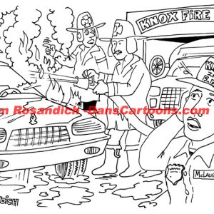 Law Enforcement Police Cartoon 48
