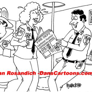 Law Enforcement Police Cartoon 58