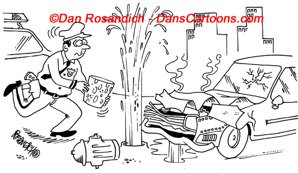 Law Enforcement Police Cartoon 63