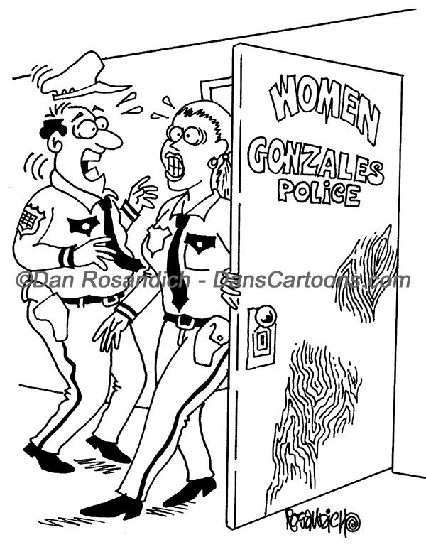 Law Enforcement Police Cartoon 64