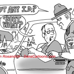 Law Enforcement Police Cartoon 9
