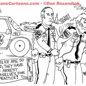 Law Enforcement Police Cartoon 98