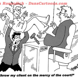 mercy of courts