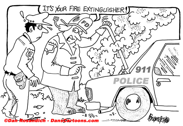 Firefighter Cartoon 11