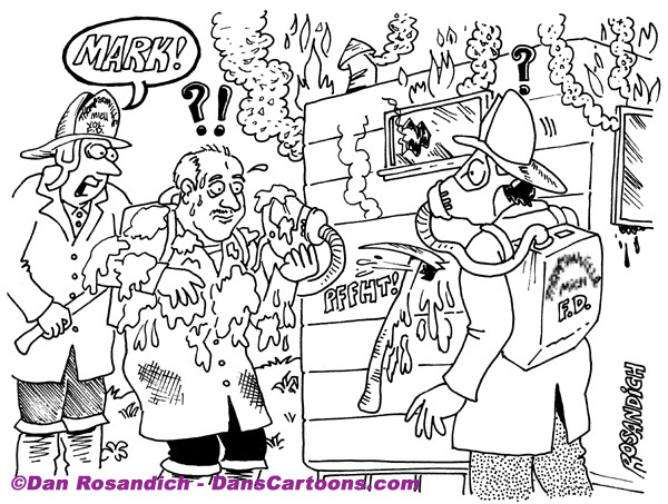 Firefighter Cartoon 21