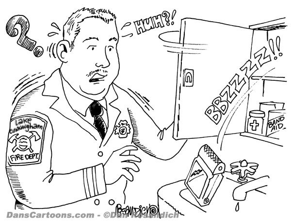 Firefighter Cartoon 24