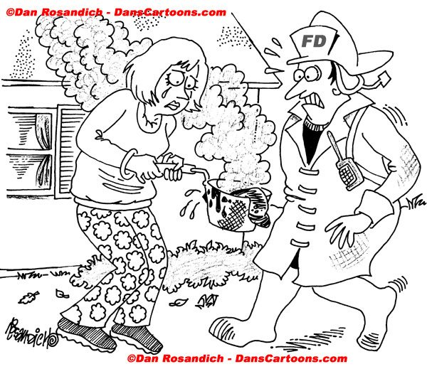 Firefighter Cartoon 28