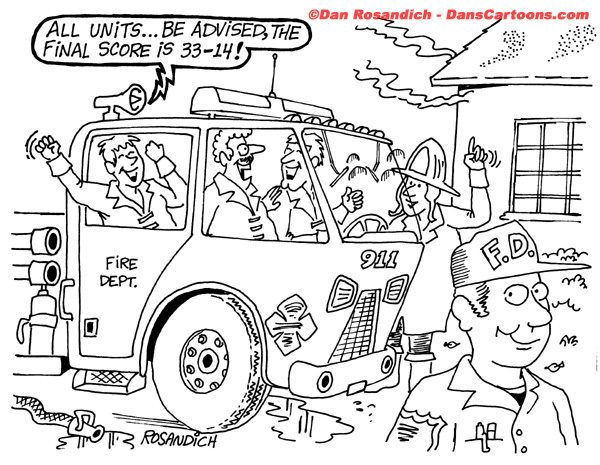Firefighter Cartoon 29