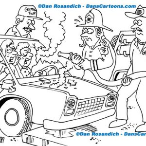 Firefighter Cartoon 32