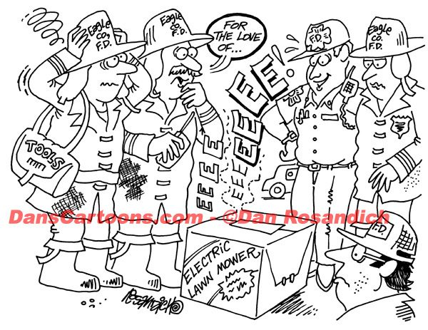 Firefighter Cartoon 33