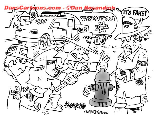 Firefighter Cartoon 34