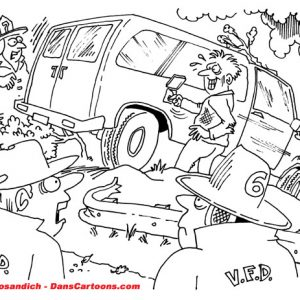 Firefighter Cartoon 35