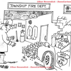 Firefighter Cartoon 38