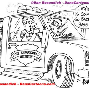 Firefighter Cartoon 50