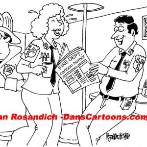 Firefighter Cartoon 6