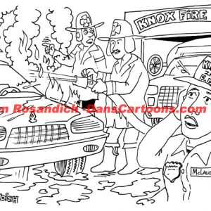 Firefighter Cartoon 7