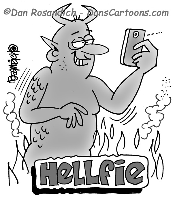 devil has smart phone
