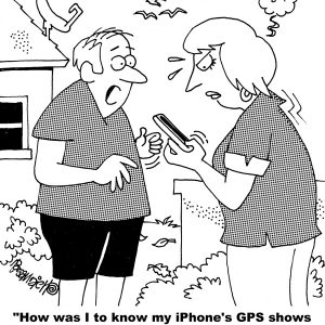 iphone cartoon displays topless photos