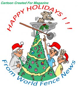 happy holidays cartoon greeting
